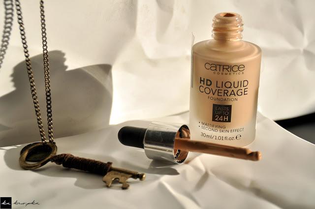 Catrice hd liquid coverage - rewolucja w makijażu!