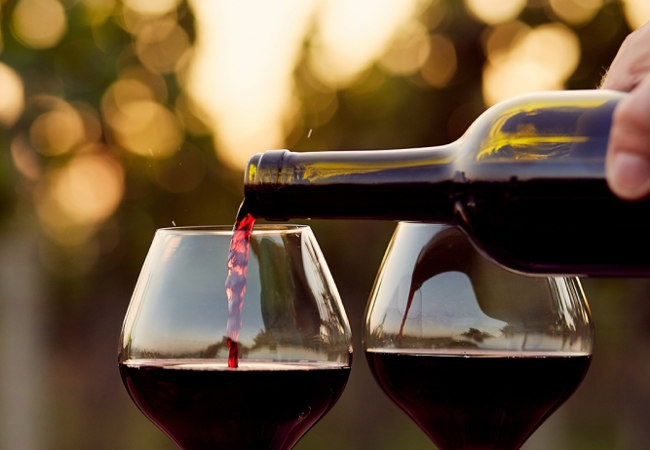 wino a zdrowie